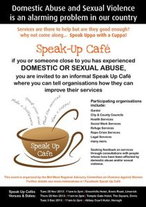 Help organisations improve their services, speak uppa with a cuppa!!!